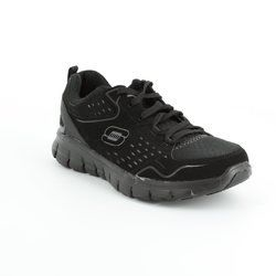 Skechers Trainers & Canvas - Black - 11792/23 A LISTER 11792