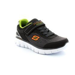 Skechers Boys Shoes - Charcoal - 95499/90 POWER RUSH 95499