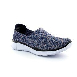 Skechers Trainers & Canvas - Navy - 12028/87 VIVID DREAM MF 12028
