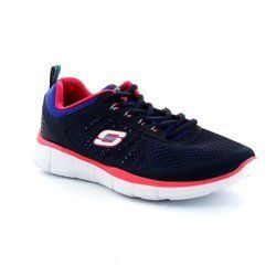 Skechers Trainers & Canvas - Navy-Blue - 11897/77 NEW MILE MF 11897
