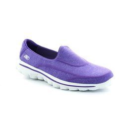 Skechers Trainers & Canvas - Purple - 13955/59 SUPER SOCK GO 13955