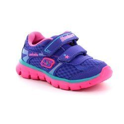 Skechers Girls 1st Shoes & Prewalkers - Purple - 8086/7N LIL SOFTY 80867