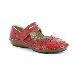 Rieker Everyday Shoes - Red - 44875-33 CINDERS
