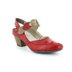 Rieker Everyday Shoes - Red multi - 45059-33 MEZZI
