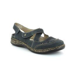 Rieker Everyday Shoes - Navy - 46379-14 DAISLING