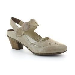 Rieker Everyday Shoes - Taupe multi - 45059-42 MEZZI