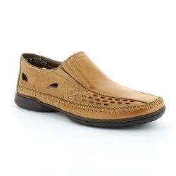 Rieker Shoes - Tan - 07966-23 DES
