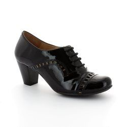 Wonders Heeled Shoes - Black patent - I4601/40 AVELLA