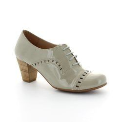 Wonders Heeled Shoes - Taupe patent - I4601/50 AVELLA