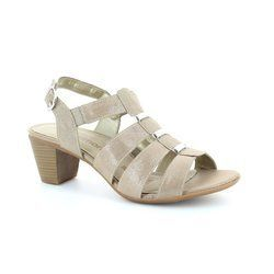 Remonte Heeled Shoes - Metallic - R9250-52 MURMEL