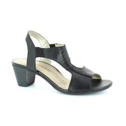 Remonte Dorndorf Heeled Shoes - Black - R9252-01 STRIK