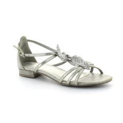 Marco Tozzi Sandals - Silver - 28100/926 LEAF