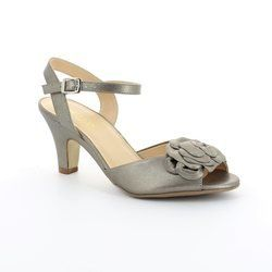 Ambition Heeled Shoes - Pewter - 3936/65 JONI