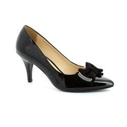 Ambition Heeled Shoes - Black patent - 1481/24 JOLLY