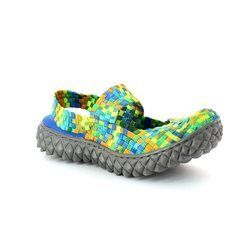 Adesso Trainers & Canvas - Tropical effect - A2802/90 LAURA