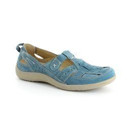 Earth Spirit Everyday Shoes - Blue - 00195/08 LONG BEACH