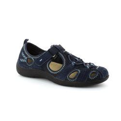Earth Spirit Everyday Shoes - Navy - 00195/00 WICHITA