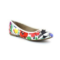 Tamaris Pumps & Ballerinas - White multi - 22103/908 SQUARE