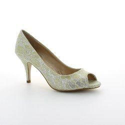 Lotus Heeled Shoes - Gold - 5051/92 EVA