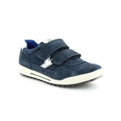 IMAC Boys Shoes - Navy suede - 33951/7030001 BIKER