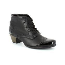 Remonte Boots - Ankle - Black patent - R9170-01 MURLACE