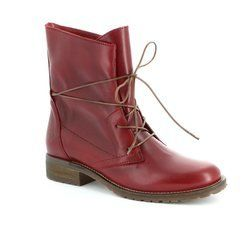 Tamaris Boots - Ankle - Red - 25262/501 BRIT