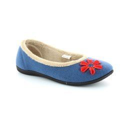 Padders Slippers & Mules - Blue multi - 464/54 HAPPY