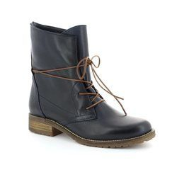 Tamaris Boots - Ankle - Navy - 25262/805 BRIT