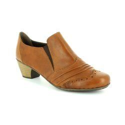 Rieker Heeled Shoes - Tan - 41730-24 SARBRO 52