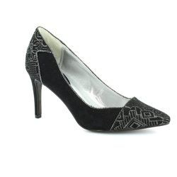 Ruby Shoo Heeled Shoes - Black - 0882/13 SALLY