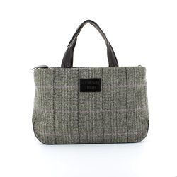 Shetland Tweed Handbags - Black multi - 5029/33 HOBO