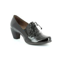 Wonders Heeled Shoes - Black patent - G3690/40 WIND G3651/40