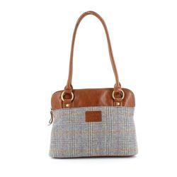 Shetland Tweed Handbags - Tweed - 5030/71 SHOULDER