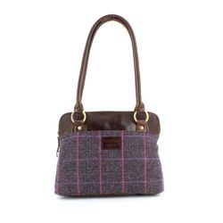 Shetland Tweed Handbags - Tweed - 5030/92 SHOULDER