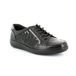 Padders Everyday Shoes - Black croc - 240/43 ATOM