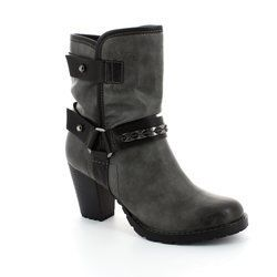 Tamaris Boots - Ankle - Dark grey multi - 25445/223 CANESALAPINO