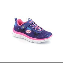 Skechers Girls Shoes - Blue - 81877/70 COSMIC MF