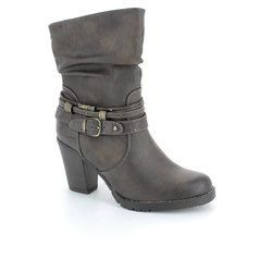 Tamaris Boots - Ankle - Brown multi - 25025/314 DODASH