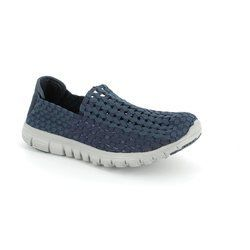 Heavenly Feet Trainers & Canvas - Navy - 5001/70 STOMP
