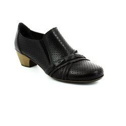 Rieker Heeled Shoes - Black - 41715-00 SARPERF