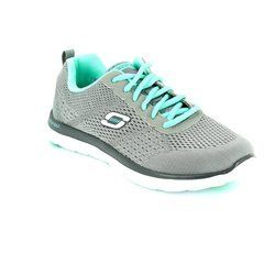 Skechers Trainers & Canvas - Grey - 12058/00 OBVIOUS CHOICE