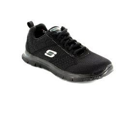 Skechers Trainers & Canvas - Black - 12058/30 OBVIOUS CHOICE