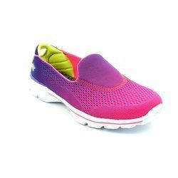 Skechers Girls Shoes - Purple-Pink - 81072/99 G GO WALK 3