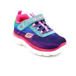 Skechers Girls 1st Shoes & Prewalkers - Multicoloured - 81869/55 PERFECT PICTUR