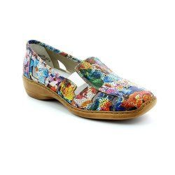 Rieker Everyday Shoes - Floral print - 41385-90 DORIC