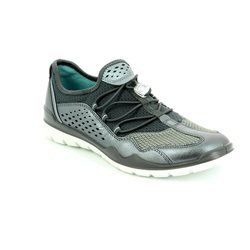 ECCO Trainers & Canvas - Pewter - 830413/59528 LYNX
