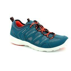 ECCO Trainers & Canvas - Petrol blue - 841033/53045 L TERRACRU