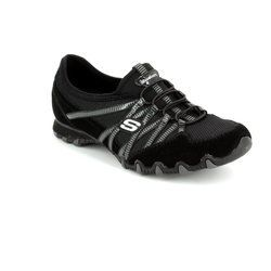 Skechers Everyday Shoes - Black-Grey - 21159/93 HOT TICKET BIK 21159