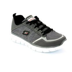 Skechers Boys Shoes - Grey - 95495/00 POWER SWITCH