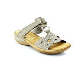 Marco Tozzi Sandals - Light taupe - 27501/341 TANGOVEL 61